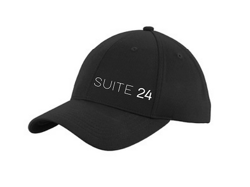 The Classic Strap Back Hat Black
