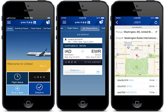 United Airlines bolsters mobile strategy with smartphone entertainment, new app