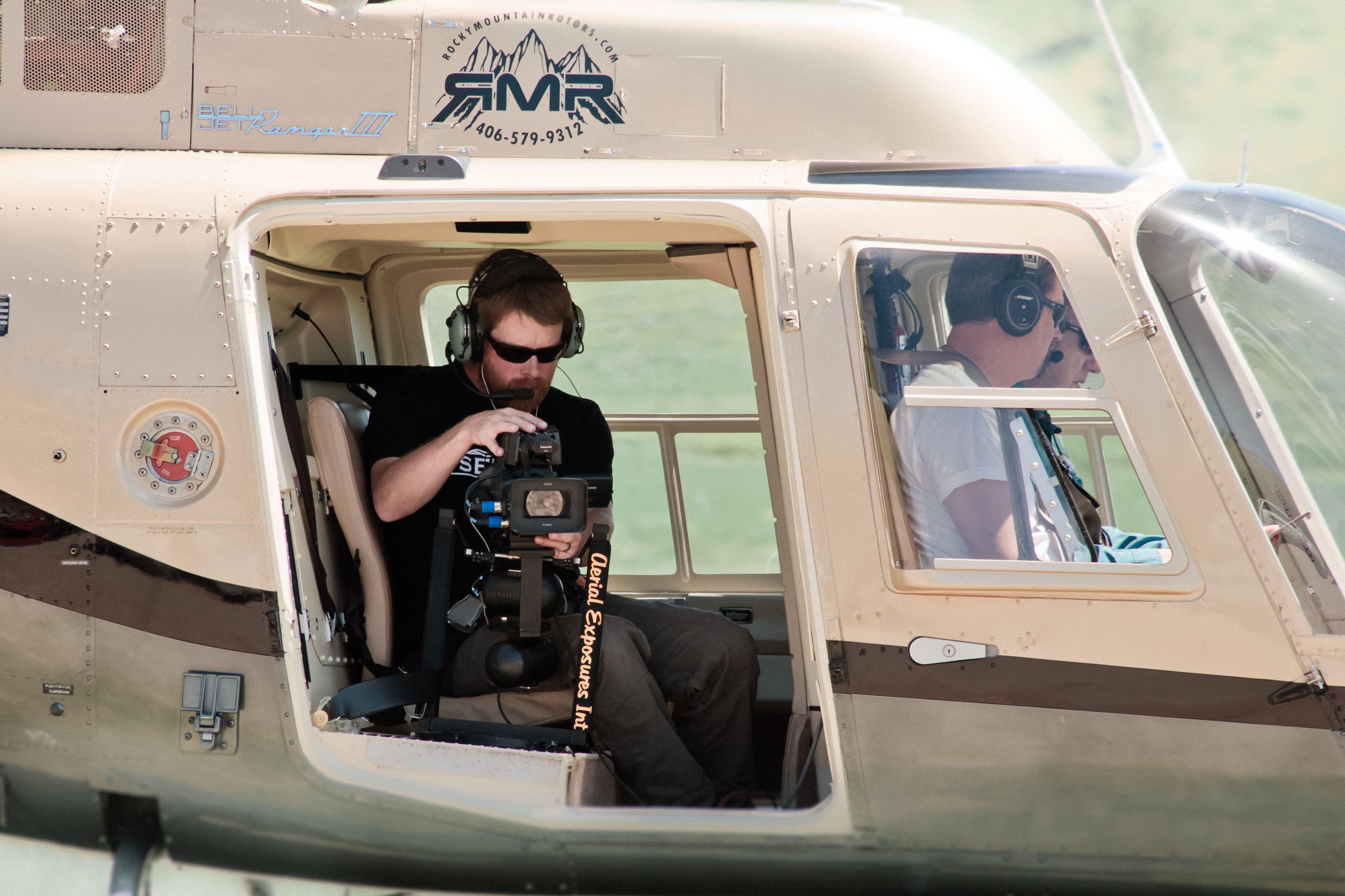 Erik Resel Aerial Camera Operator