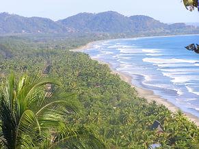 Beach at the North Pacific Region in Costa Rica