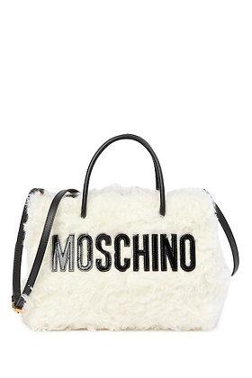 Moschino - Mohair Brand Logo Bag