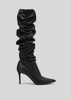 Versace Jeans Couture - Stivali con Ruches
