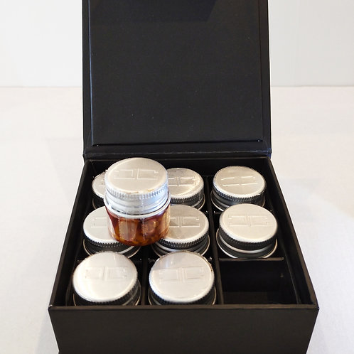 CAPSI - Chili in oil - Black Box with n. 9 bottles, 10 ml