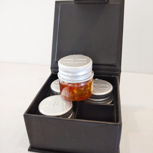 CAPSI - Chili in oil - Black Box with n. 4 bottles, 10 ml