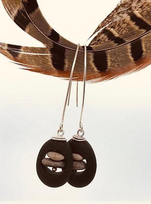 Rock Stack Duo Earrings