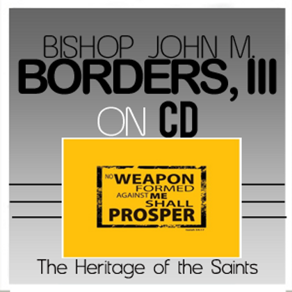 The Heritage of the Saints CD