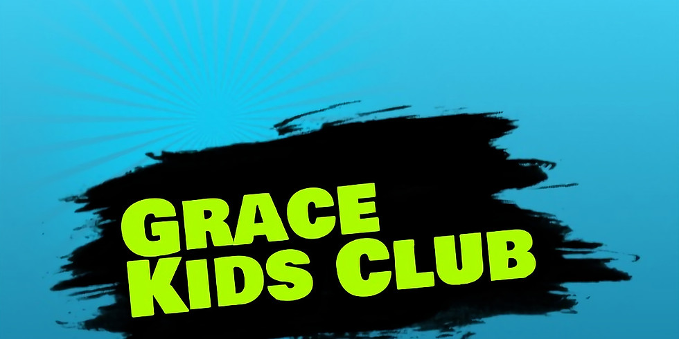Grace Kids Club - Thursday nights July 1st - August 12th