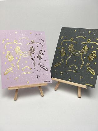 'It's Magic' Gold foil print