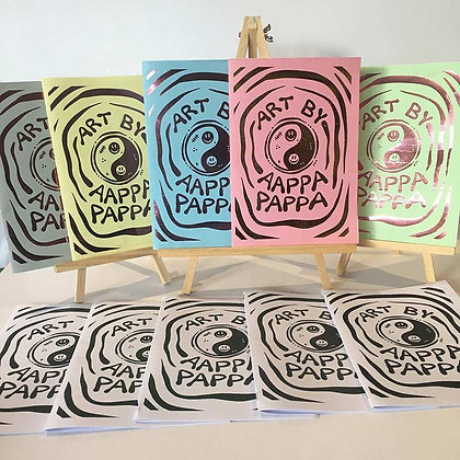 'Art By AAPPA-PAPPA' Special edition zine