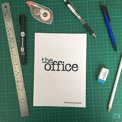 'The Office' zine