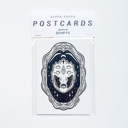 'SPIRITS' Postcard pack
