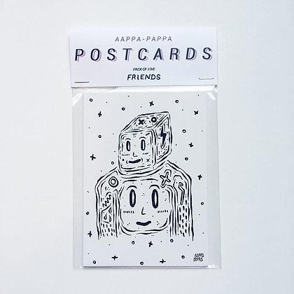 'FRIENDS' Postcard pack