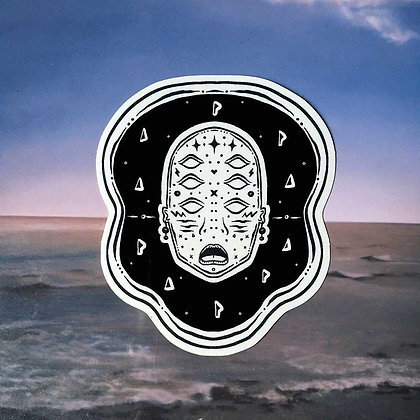 'DUDE' Sticker
