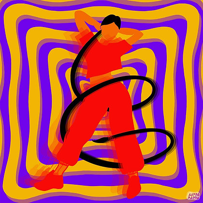 'Groove With It' Print