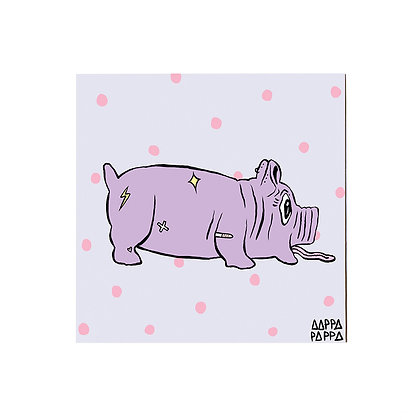 'Piggy Chops' Sticker
