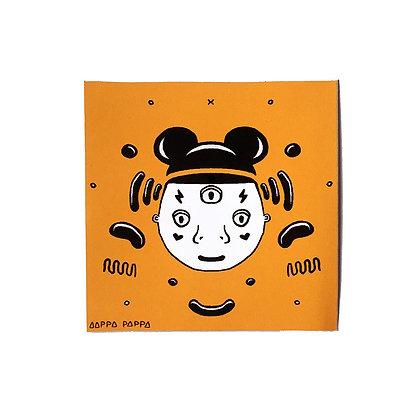'Fake Mickey' Sticker