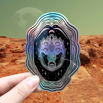 'PHASES' Sticker