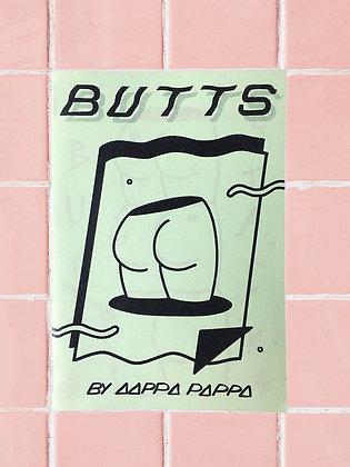 'BUTTS' zine