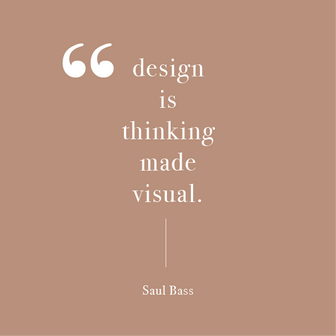 Quote by Saul Bass