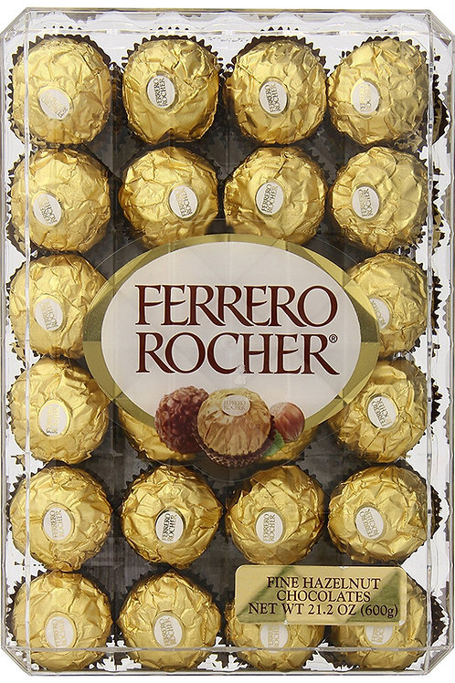 DA12 Ferrero Rocher Hazlenut, 48 Count, 21.2oz
