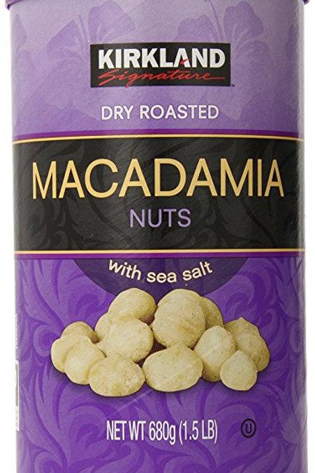Hạt Macadamias kirkland