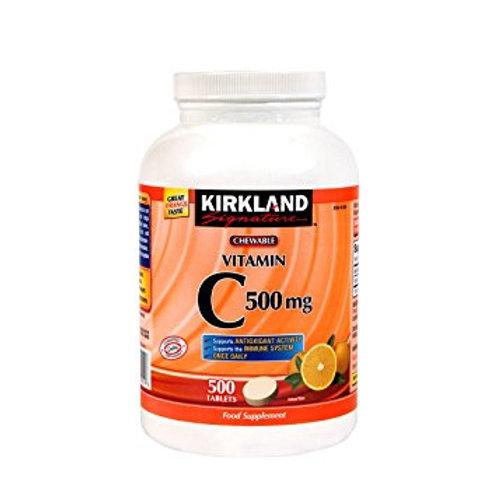 Kirkland Chewable Vitamin C 500mg