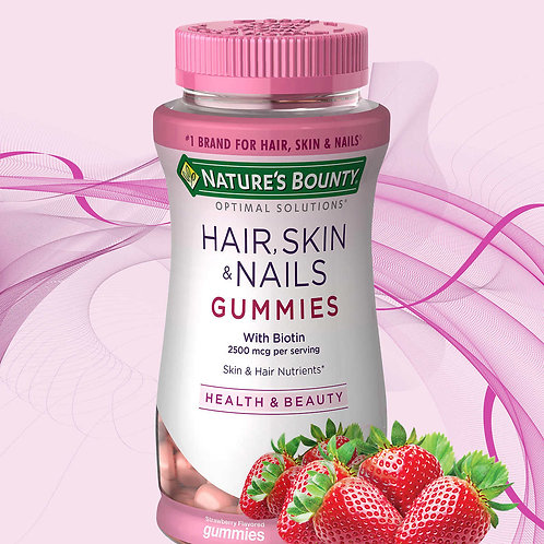 VC56 Natures Bounty Hair Skin Nail Gummy 230vien