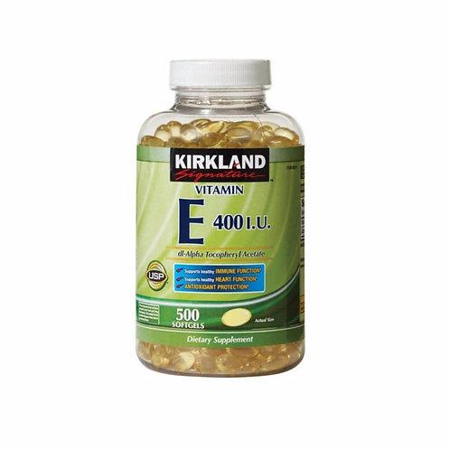 VC29 Kirkland Vitamin E 400 I.U. 500 viên