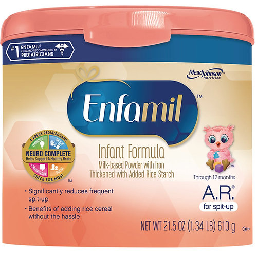 MP18 Enfamil A.R. Infant Formula Powder Tub - 21.5 oz