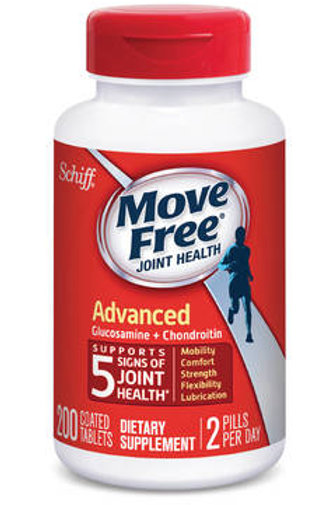 VC12 Schiff Move Free Advanced Triple Strength 200 Tablets