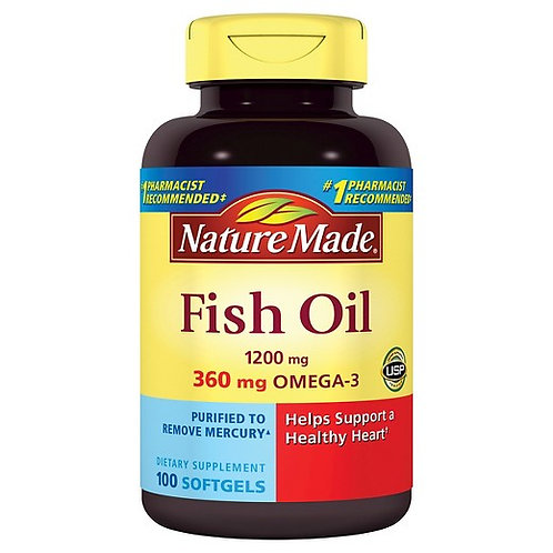 Nature Made Fish Oil 1200mg OMEGA-3