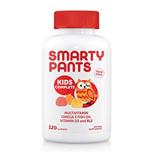 VC50 SmartyPants Kids Complete Multivitamin, 180 Gummies