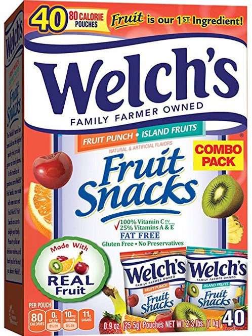 Welch Fruit Snacks 57.6oz