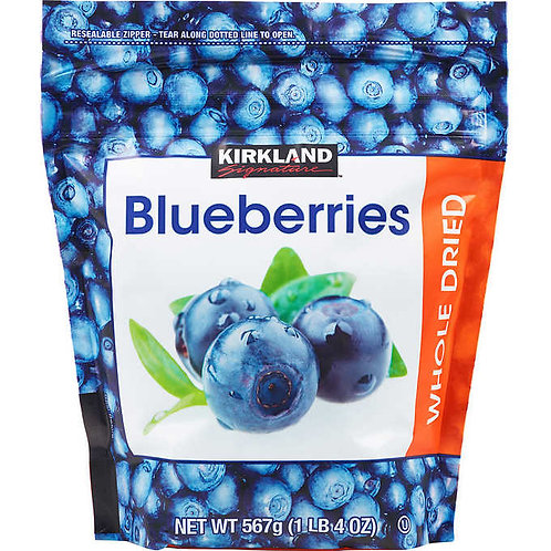 Kirkland Signature Whole Dried Blueberries, 20 oz.