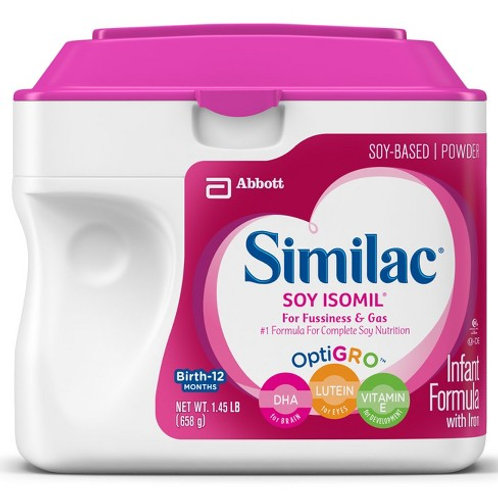 MP33 Similac Soy Isomil 1.45lbs