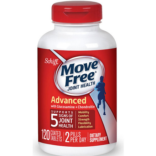 VC49 Schiff Move Free Glucosamine Advanced plus MSM Chondroitin 120vien