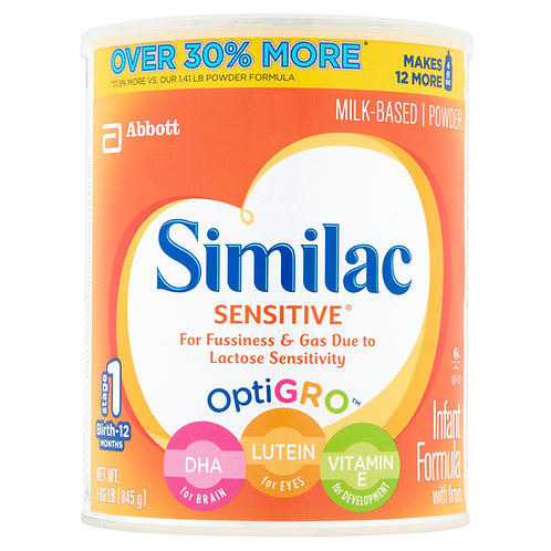 Similac Sensitive 845g (0-1 tuổi)