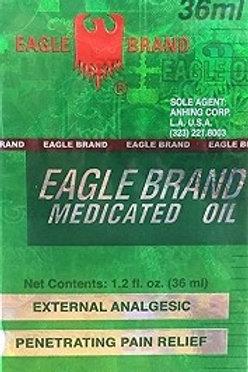Eagle Brand Dầu Gió Xanh Hiệu Con Ó 1 loc 12 chai 36ml