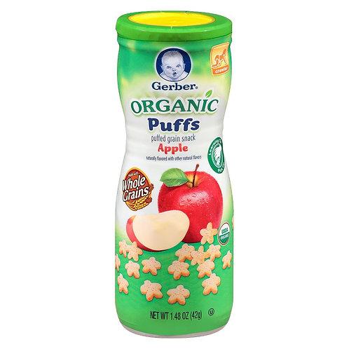 DA19 Gerber Organic Puffs Apple 1.48oz