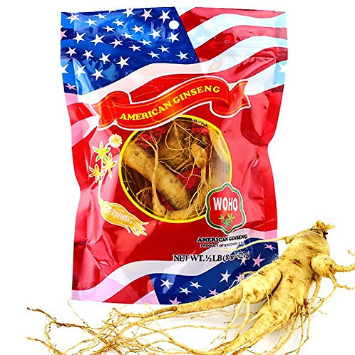 American Fresh Ginseng 6-8 roots 8oz