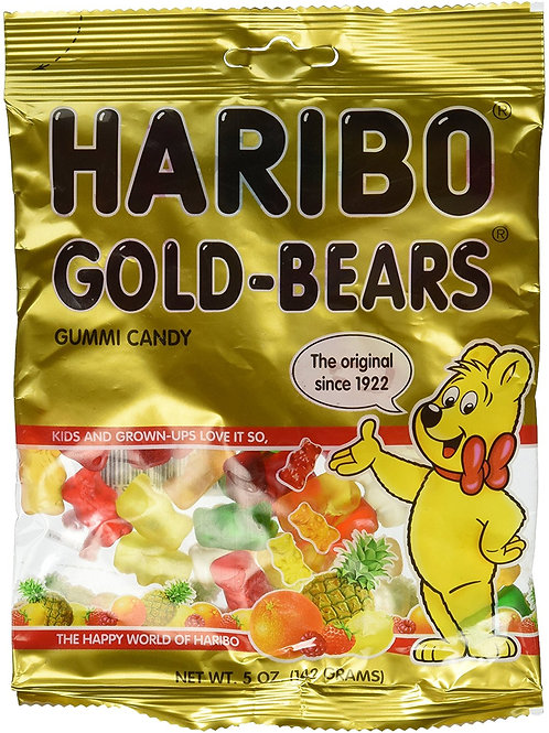 HARIBO 5-Ounce Bags (Pack of 12)