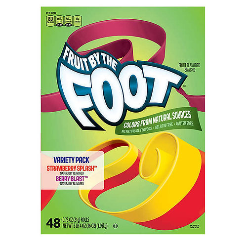 General Mills Fruit By The Foot Variety Pack 0.75 oz, 48-count