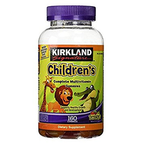 VC07 Kẹo bổ sung vitamin cho bé Kirkland Children's Multivitamin 160 viên