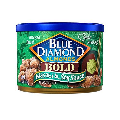 Hạt Hạnh Nhân Tẩm Mù Tạt Và Nước Tương Blue Diamond