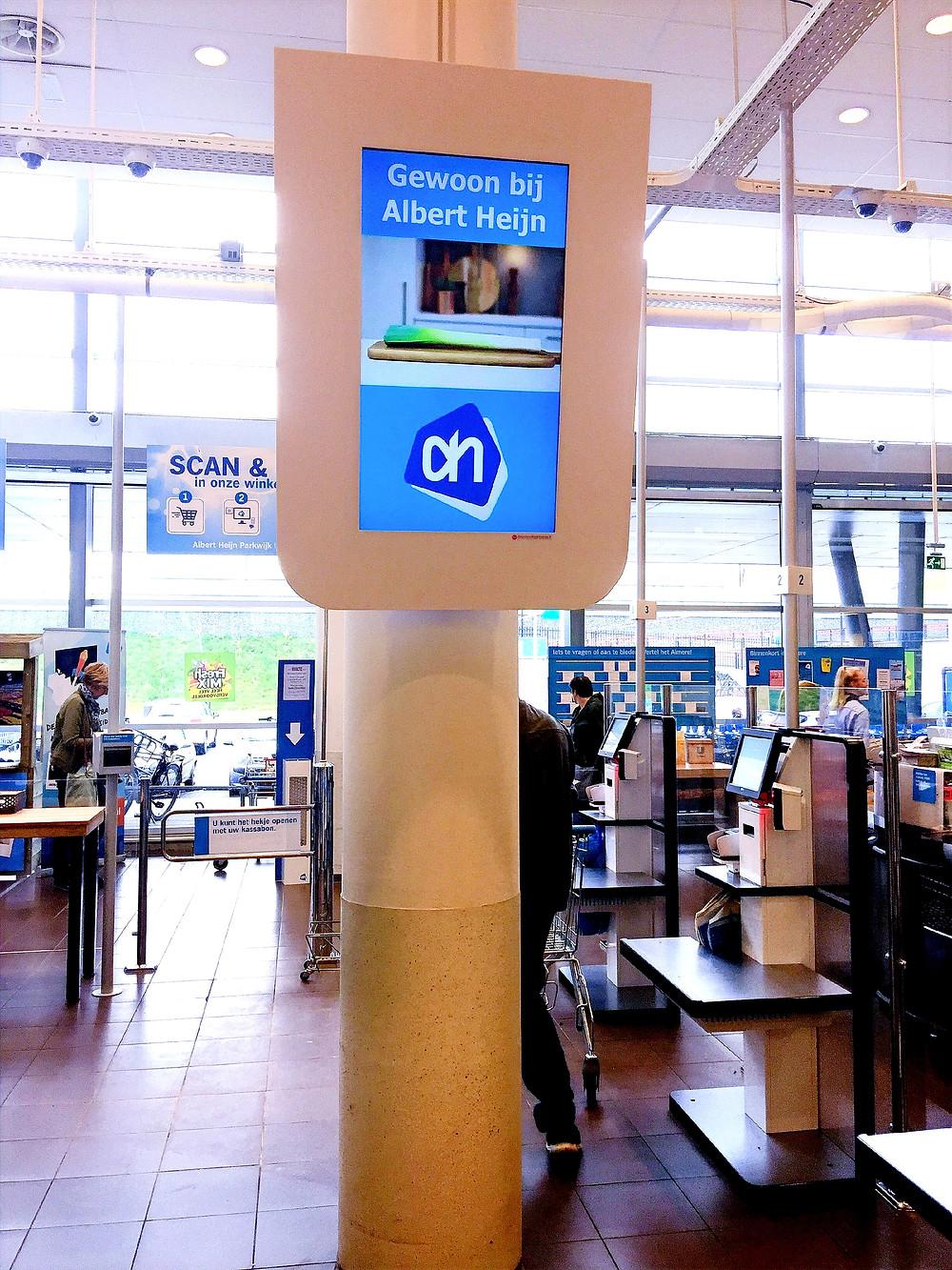 AdverterenbovenKassas.tv AH Parkwijk Almere