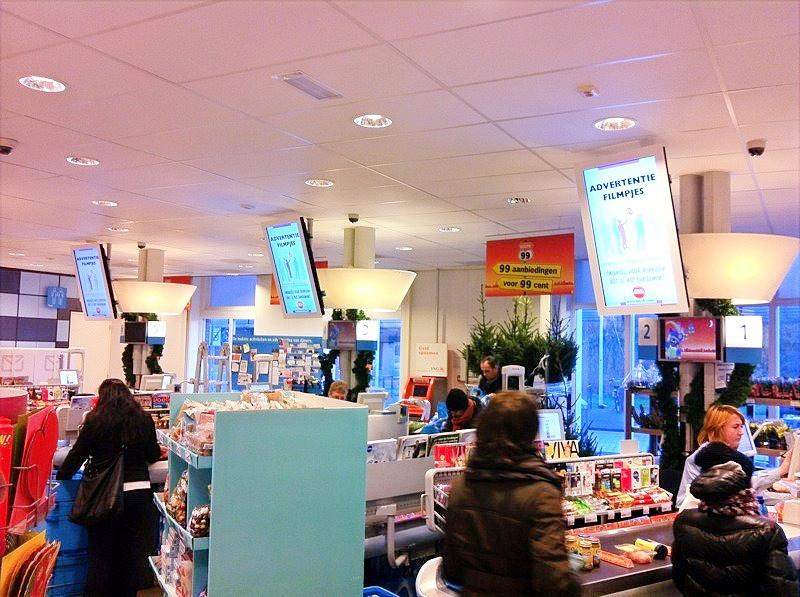 AdverterenbovenKassas.tv AH Europakwartier Almere Poort