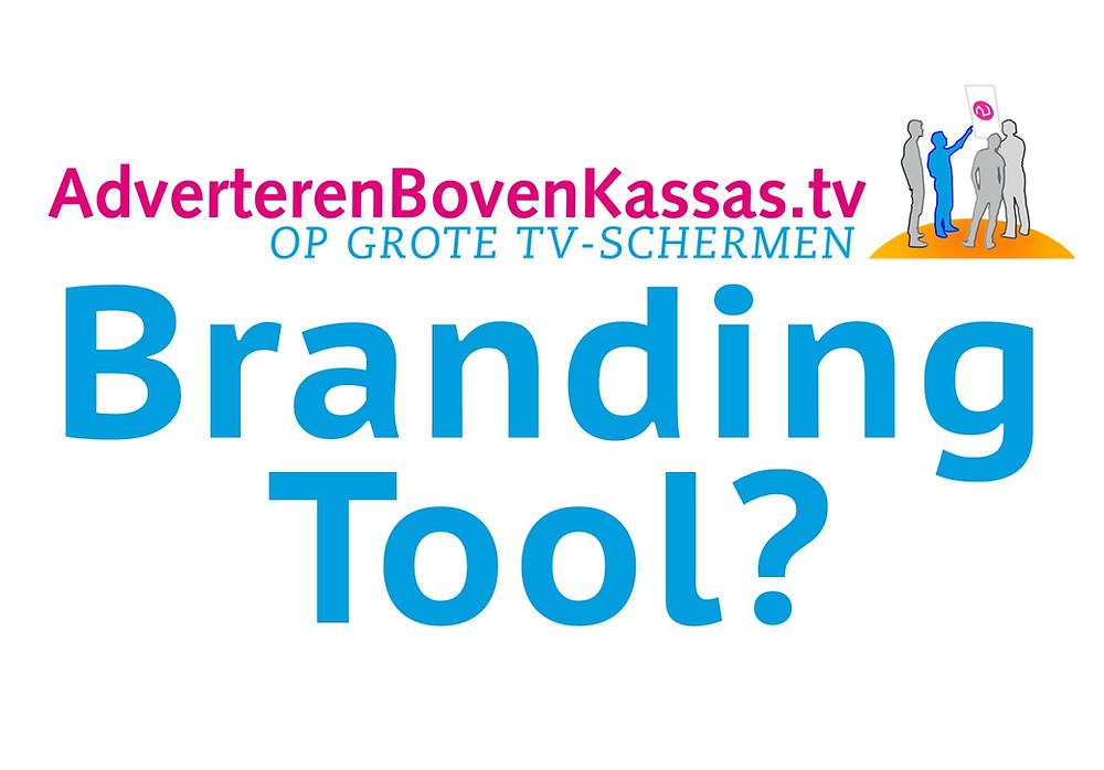 een schermcampagne in de Albert Heijn is een branding tool