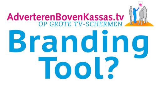 Een schermcampagne in de Albert Heijn is een branding-Tool