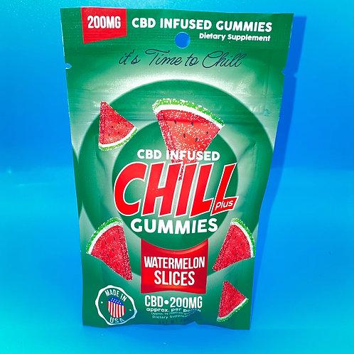 Watermelon Gummy Slices