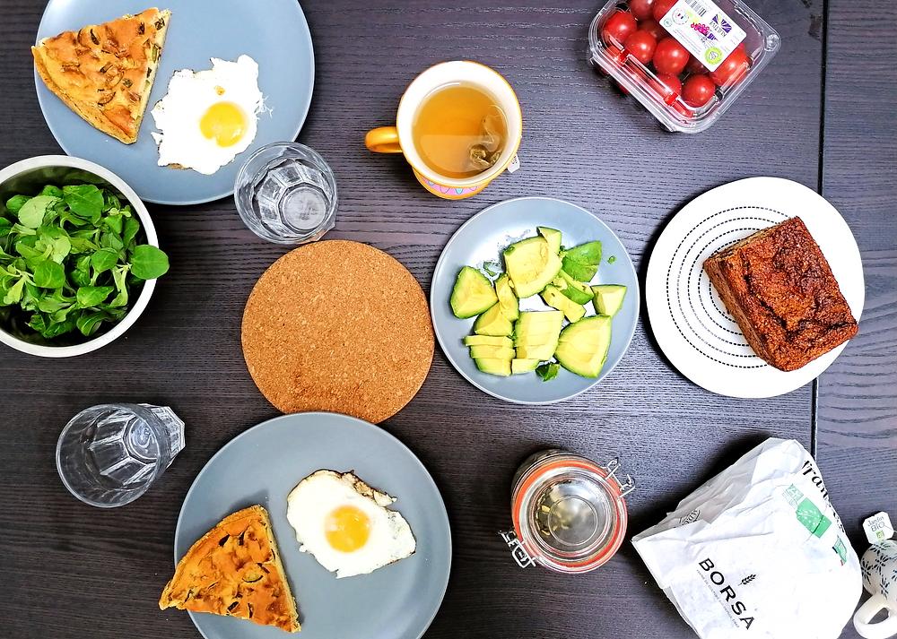 alimentation saine santé nutrition mieux manger au travail en télétravail fruits légumes céréles protéines